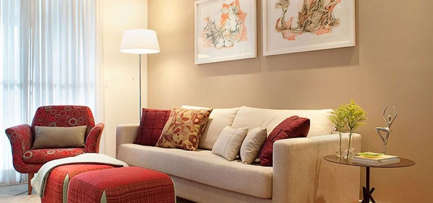 ¿Cómo pintar las paredes de un departamento pequeño?